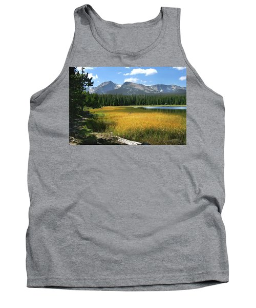 Tank Top featuring the photograph Autumn At Bierstadt Lake by David Chandler