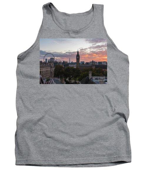 Big Ben London Sunrise Tank Top by Mike Reid