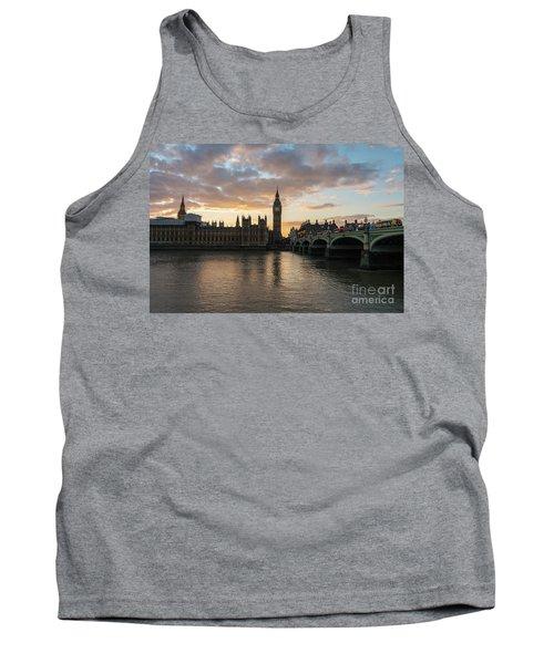 Big Ben London Sunset Tank Top