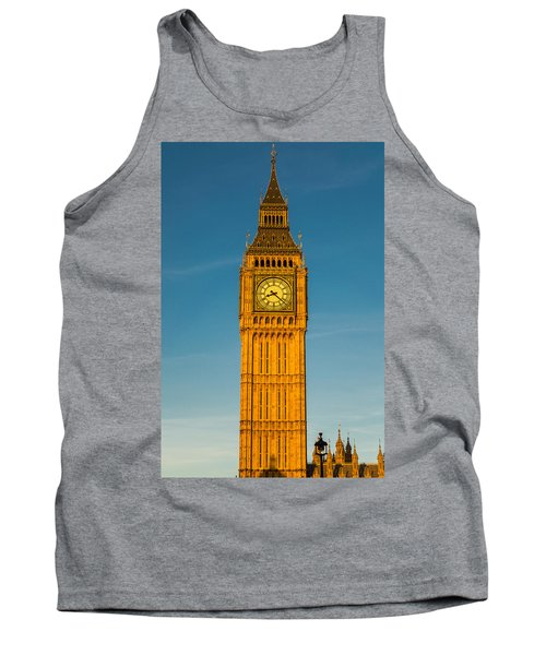Big Ben Tower Golden Hour London Tank Top