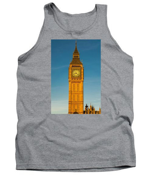 Big Ben Tower Golden Hour London Tank Top