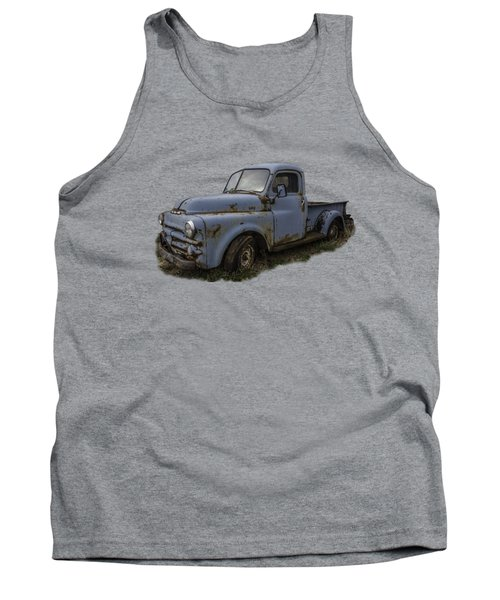 Big Blue Dodge Alone Tank Top