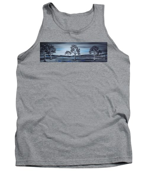 Tank Top featuring the painting Big Country by Kenneth Clarke