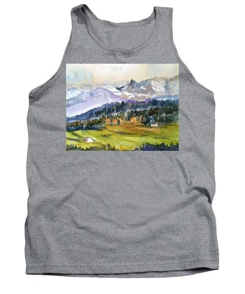 Big Mountain Sunset Tank Top