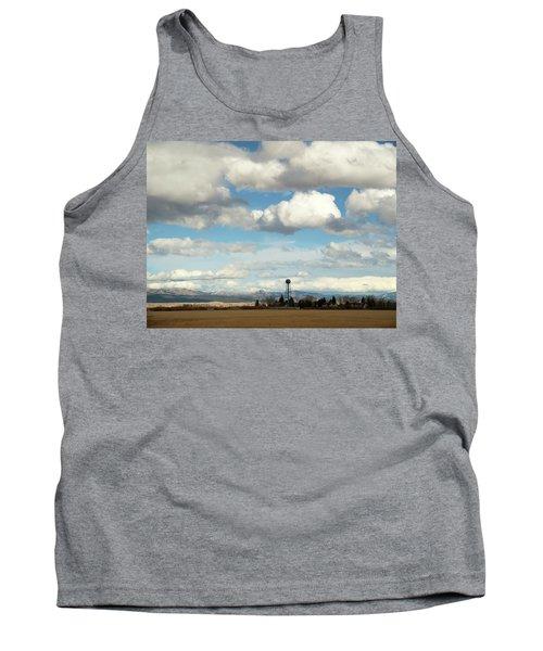 Big Sky Water Tower Tank Top
