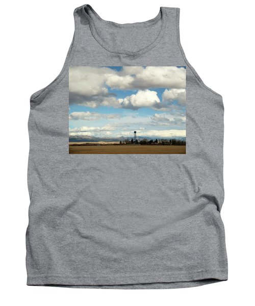 Big Sky Water Tower Tank Top