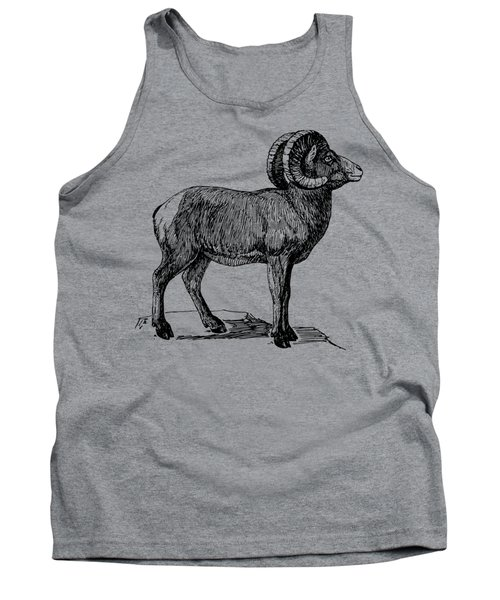 Bighorn Sheep  Tank Top