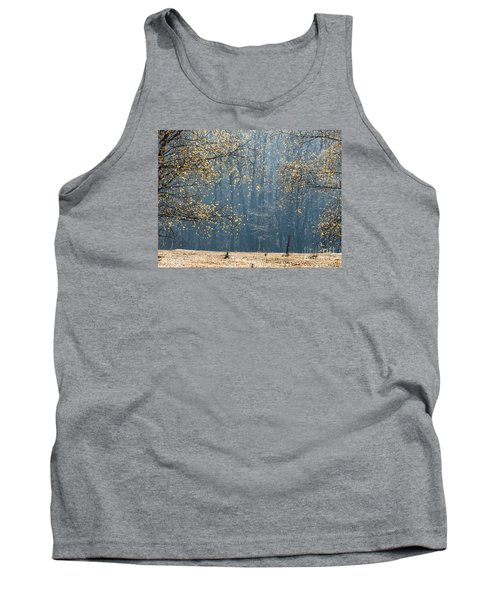 Birch Forest To The Morning Sun Tank Top by Odon Czintos