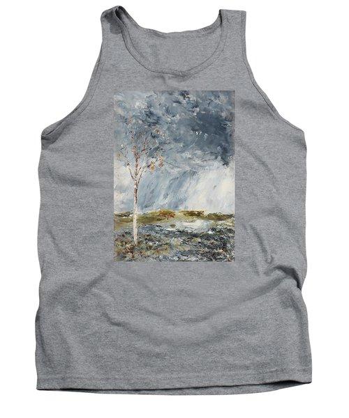 Birch I Tank Top by August Strindberg
