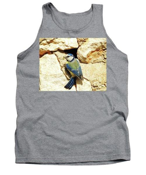 Bird Feeding Chick Tank Top