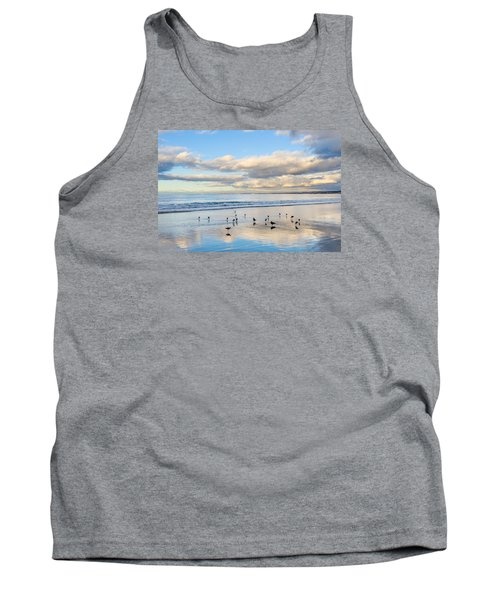 Birds On The Beach Tank Top