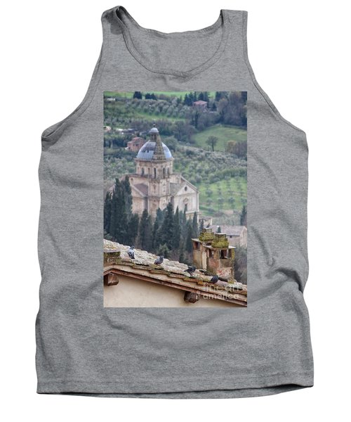Birds Overlooking The Countryside Tank Top