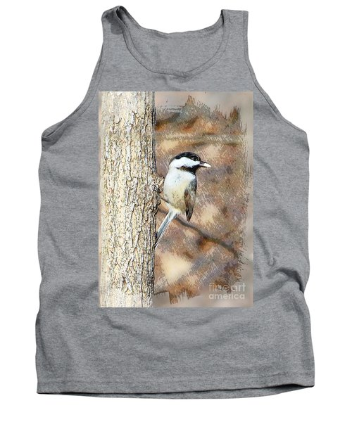 Tank Top featuring the photograph Bird@seed by Robert Pearson