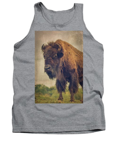 Tank Top featuring the photograph Bison 8 by Joye Ardyn Durham