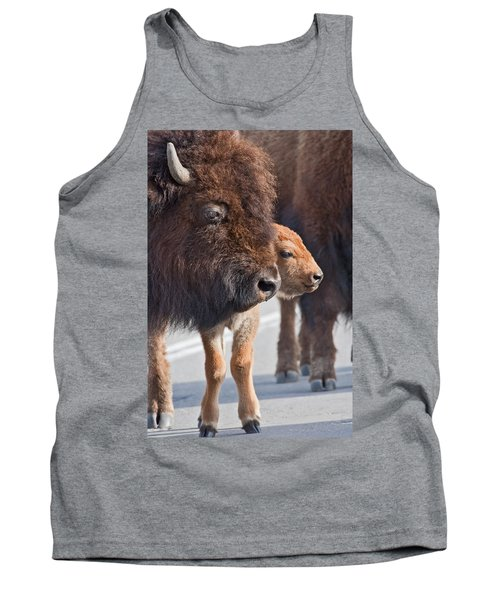 Bison And Calf Tank Top