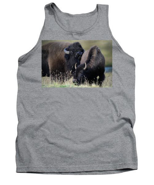 Bison Grasses Tank Top