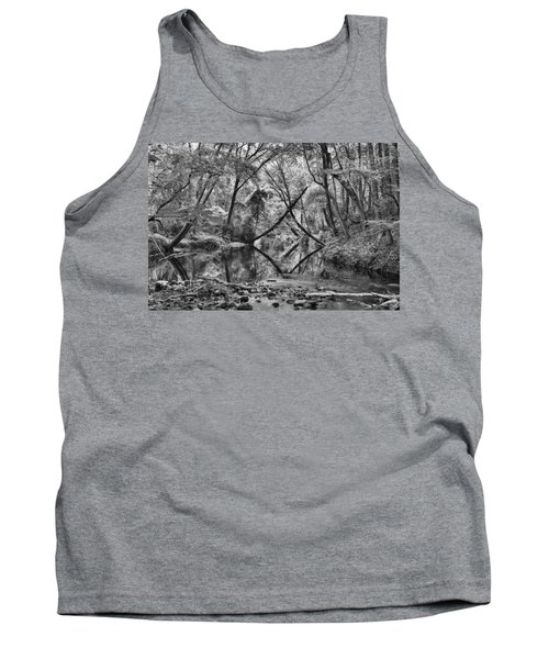 Black And White 40 Tank Top