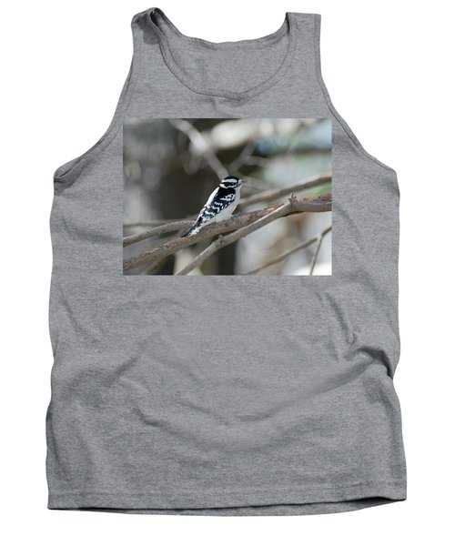 Black And White Bird Tank Top