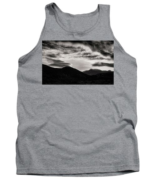 Tank Top featuring the photograph Black And White Sunrise by Joseph Hollingsworth