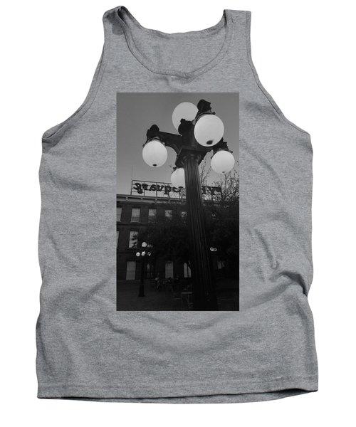 Black And White Ybor City Tank Top