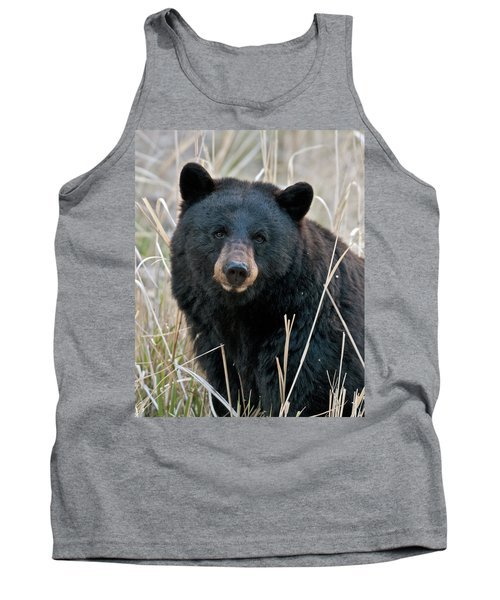 Black Bear Closeup Tank Top