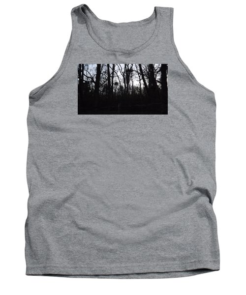 Tank Top featuring the photograph Black Woods by Don Koester