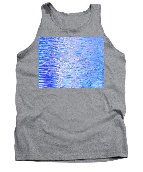 Blissful Blue Ocean Tank Top