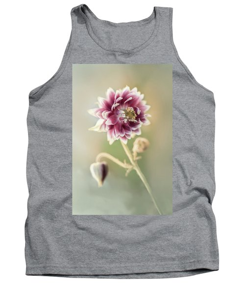 Blooming Columbine Flower Tank Top