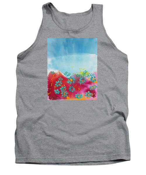 Blooms Tank Top by Shelley Overton
