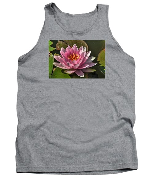 Blossoms And Lily Pads 5 Tank Top