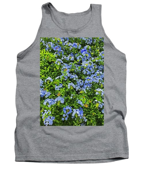Blossoms Of Phlox Flowers Tank Top