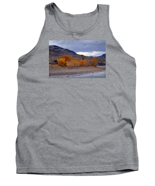 Tank Top featuring the photograph Blue And Yellow  by Irina Hays