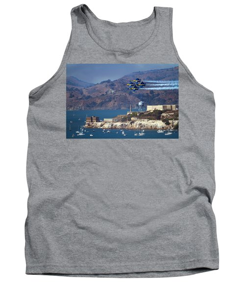 Blue Angels Over Alcatraz Tank Top