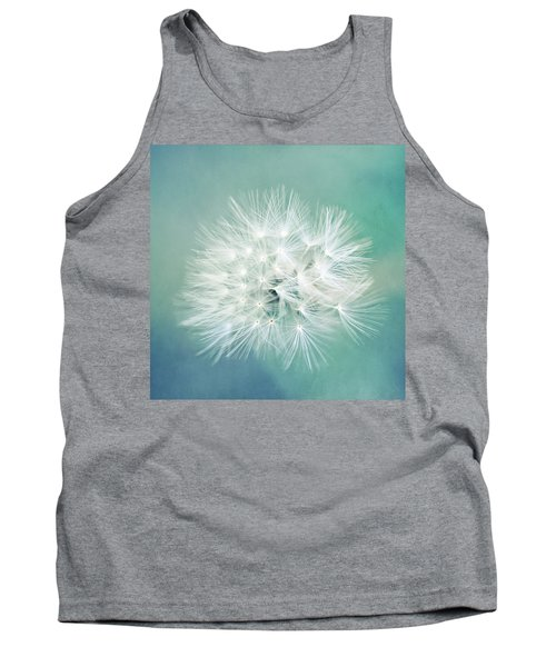 Tank Top featuring the photograph Blue Awakening by Trish Mistric