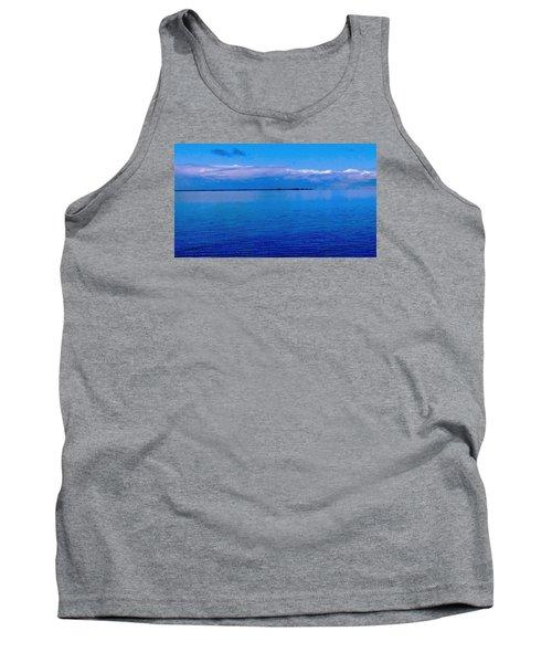 Blue Blue Sea Tank Top by Vicky Tarcau