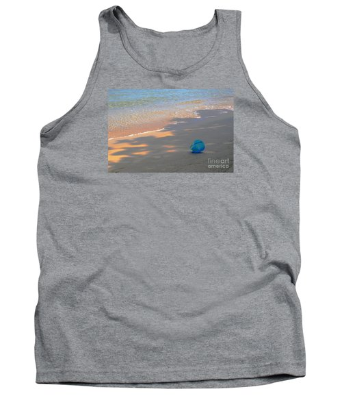 Tank Top featuring the photograph Blue Bucket by Jeanette French