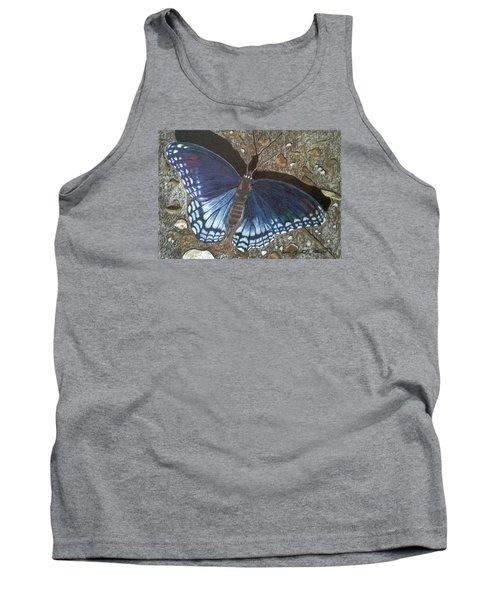 Blue Butterfly - Savannah Charaxes Tank Top