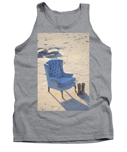 Blue Chair Tank Top