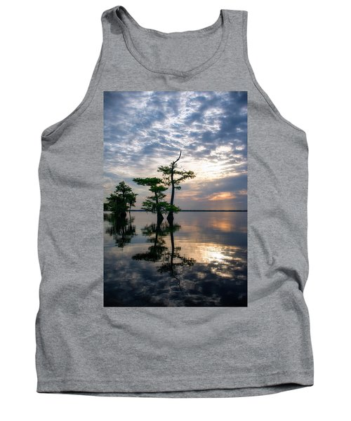 Blue Cypress Sunrise #2 Tank Top