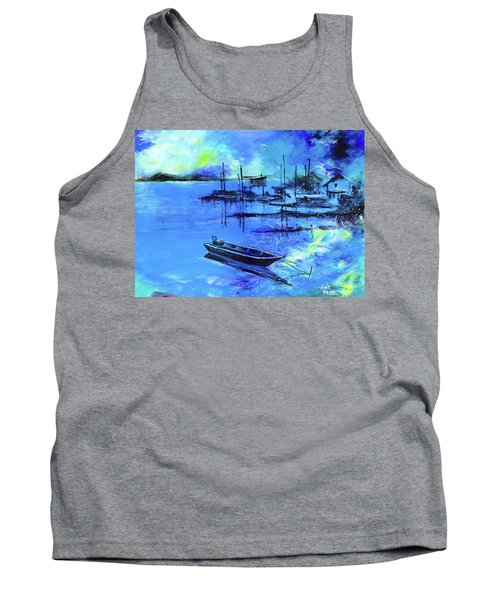 Blue Dream 2 Tank Top by Anil Nene