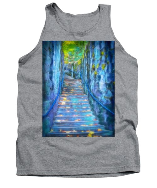 Blue Dream Stairway Tank Top