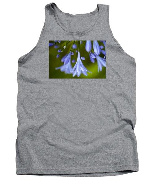 Blue Flowers Tank Top