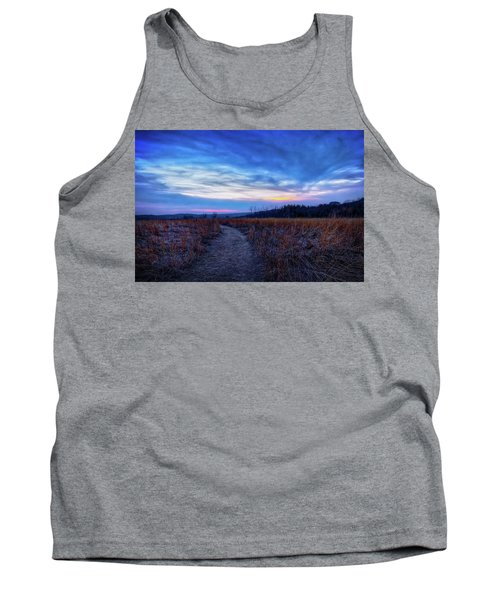 Blue Hour After Sunset At Retzer Nature Center Tank Top by Jennifer Rondinelli Reilly - Fine Art Photography