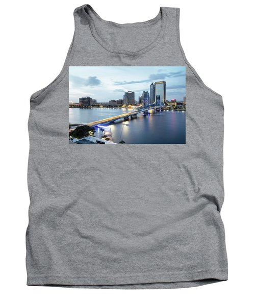 Blue Hour In Jacksonville Tank Top