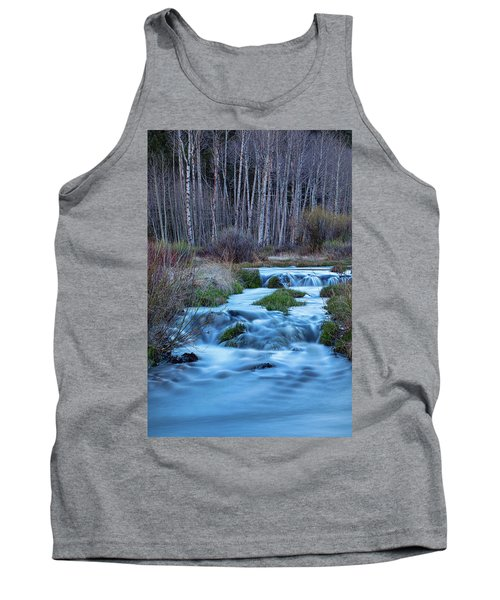 Blue Hour Streaming Tank Top by James BO Insogna