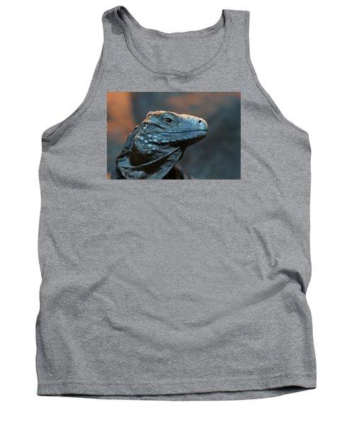 Blue Iguana Tank Top