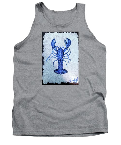 Blue Lobster 1 Tank Top