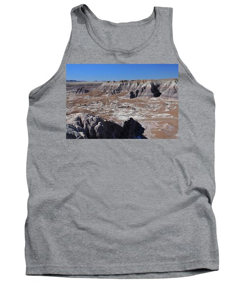 Tank Top featuring the photograph Blue Mesa by Gary Kaylor