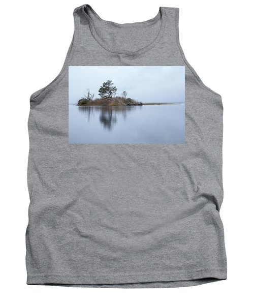 Tank Top featuring the photograph Blue Morning by Alan Raasch