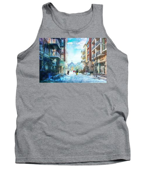 Blue Mountain Village, Ontario Tank Top